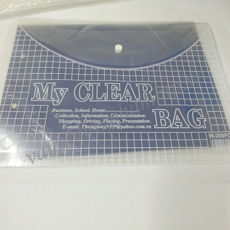 Clear Bag khổ F